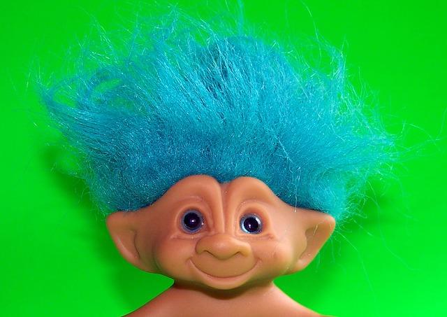 zabawka troll